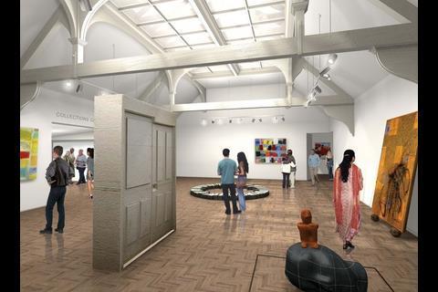 The revamped Whitechapel gallery in east London